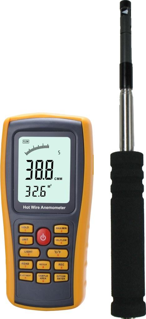 限定1台データロガーホットワイヤ方式風速計熱線式風速計風量計リアルタイム測定結果パソコンへ PCソフト付本格分離型デジタル高精度風速計風量計温度計新品CE認証風力計アネモメーター