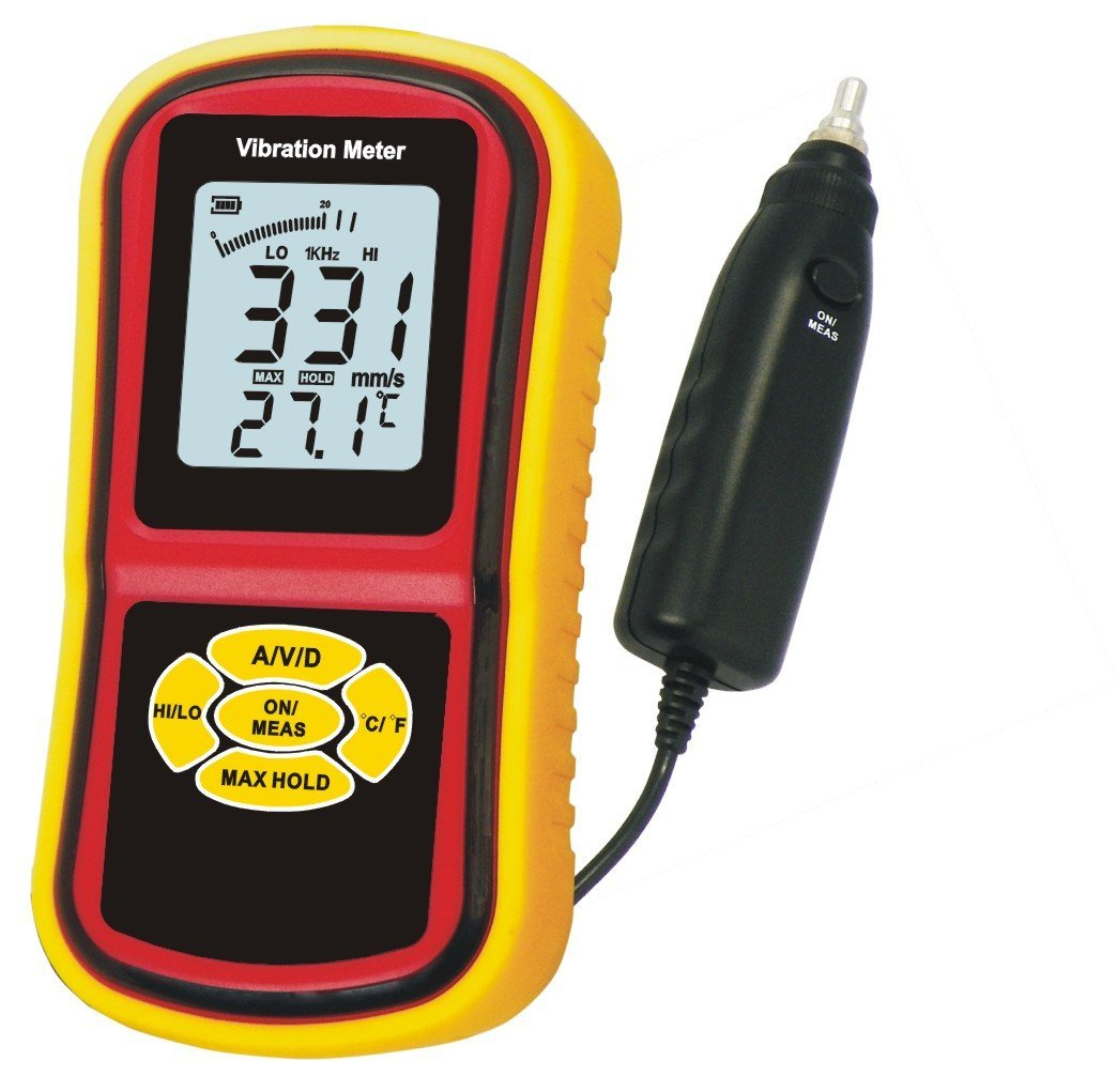 GMAR63B分離型高性能低価格ポケッタブル振動計ハンディ振動計新製品CE認証*