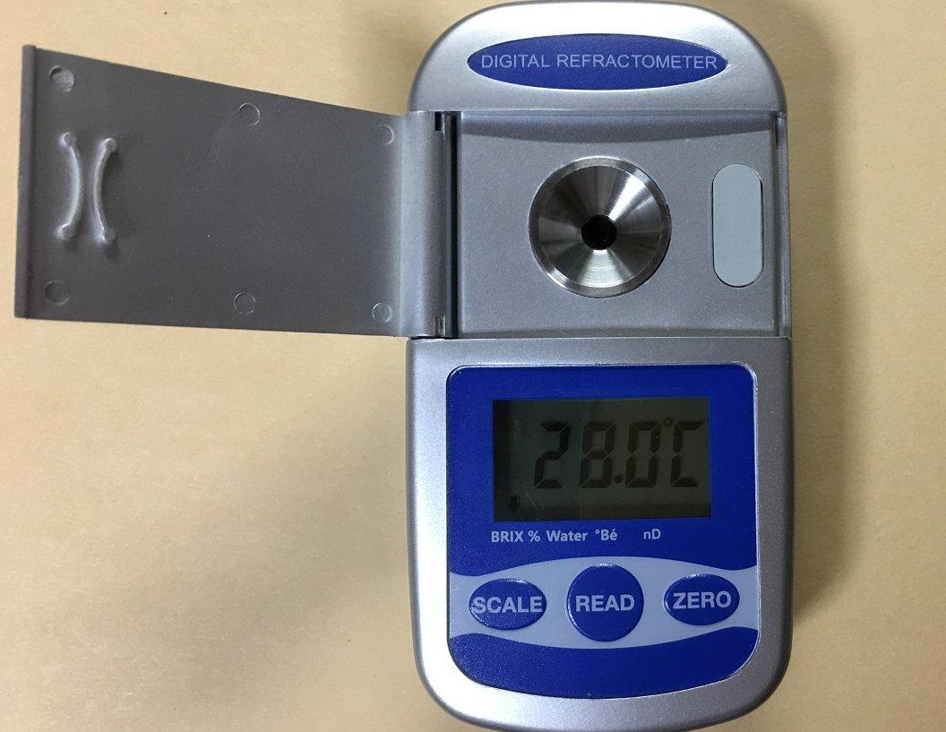 メーカー1年保証デジタルポケット型屈折計デジタル高濃度糖度計蜂蜜 水分計ボーメ度計屈折計