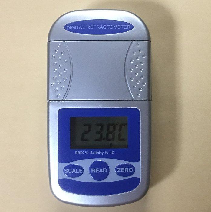 1年メーカー保証新商品デジタルポケット型糖度計塩分計屈折計