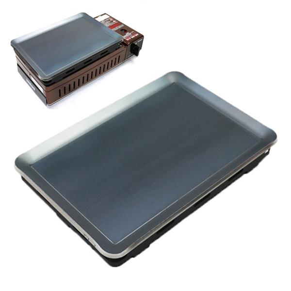 イワタニ(iwatani) 炉ばた焼器 炙りや 専用 極厚グリルプレート 板厚9.0mm プロ仕様!極厚バーベキュー鉄板! BBQ・アウトドアの必須アイテム。
