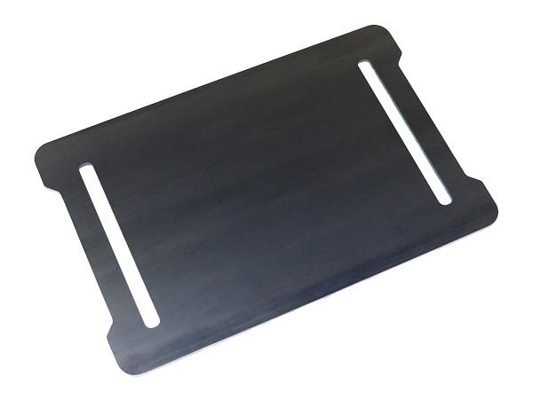 プロ仕様!極厚バーベキュー鉄板!BBQ・アウトドアの必須アイテム。 コールマン フォールディングクールステージテーブルトップグリル(レッド) 専用グリルプレート 板厚9.0mm