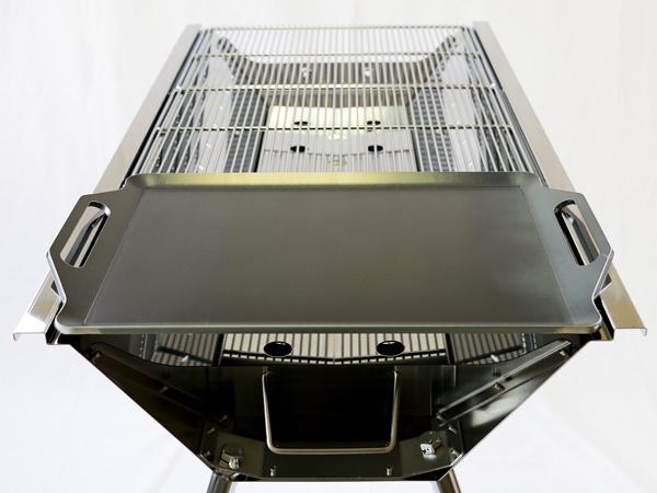 プロ仕様!極厚バーベキュー鉄板!BBQ・アウトドアの必須アイテム。 ユニフレーム UFタフグリル SUS-900専用グリルプレート 板厚9.0mm