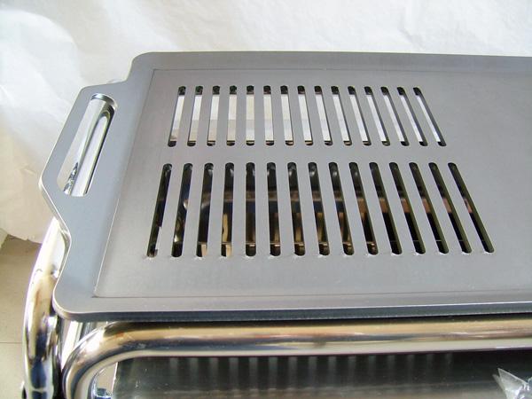 プロ仕様!極厚バーベキュー鉄板!BBQ・アウトドアの必須アイテム。 ロゴス EZCステンチューブラルプラスL専用グリルプレート 板厚6.0mm