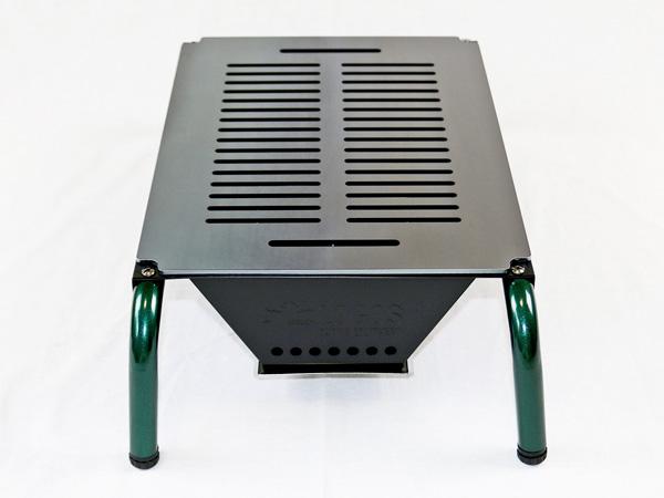 プロ仕様!極厚バーベキュー鉄板!BBQ・アウトドアの必須アイテム。 ロゴス お掃除楽ちんテーブルグリル専用グリルプレート 板厚6.0mm