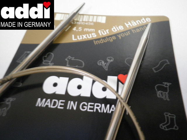 addi 期間限定の激安セール 低価格 メタル輪針プレミアム105-7 6号-10号