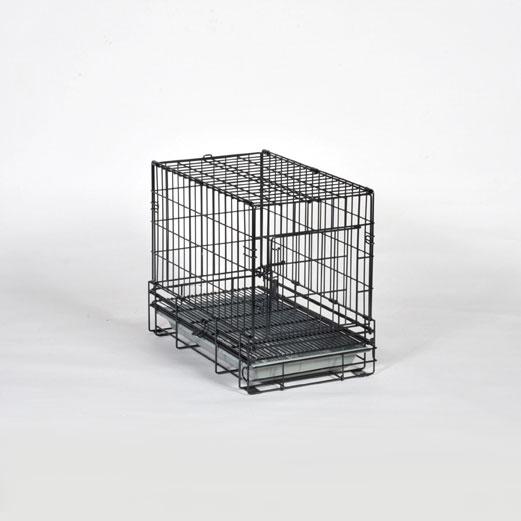 【小型犬用ケージ】PROスチールケージ S-SSD 短面扉(310mm×500mm×H395mm)【犬 ケージ 檻】【折り畳み】【組み立てかんたん】【売れ筋商品】【プロユース商品】
