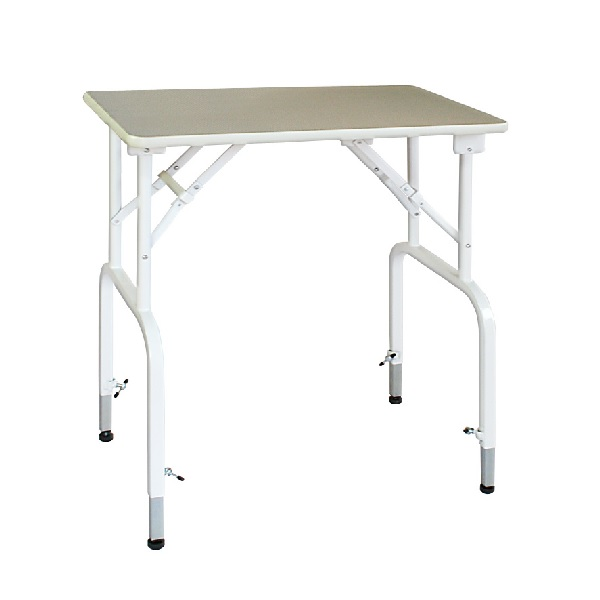 【純国産 高さ調節できるテーブル】トリミングテーブル アジャスト DX-L (W900×D600×H660mm~730mm)【サロン】【人気】【便利】【プロユース】