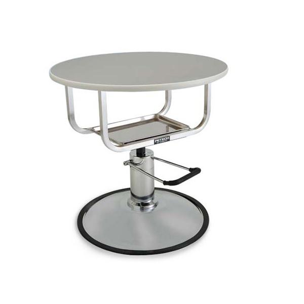 【ハチコウ油圧テーブル】油圧式テーブル丸型エーコ720【油圧テーブル】【高性能】【プロユース】【人気商品】