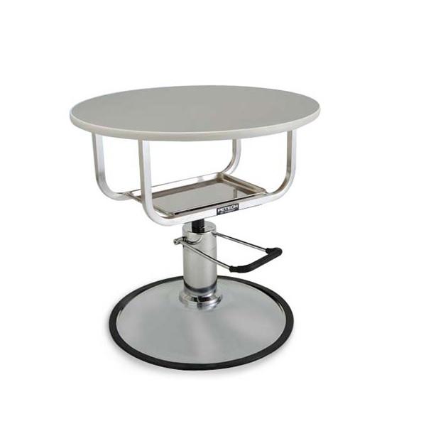 【ハチコウ油圧テーブル】油圧式テーブル丸型アプロ720【油圧テーブル】【高性能】【プロユース】【人気商品】