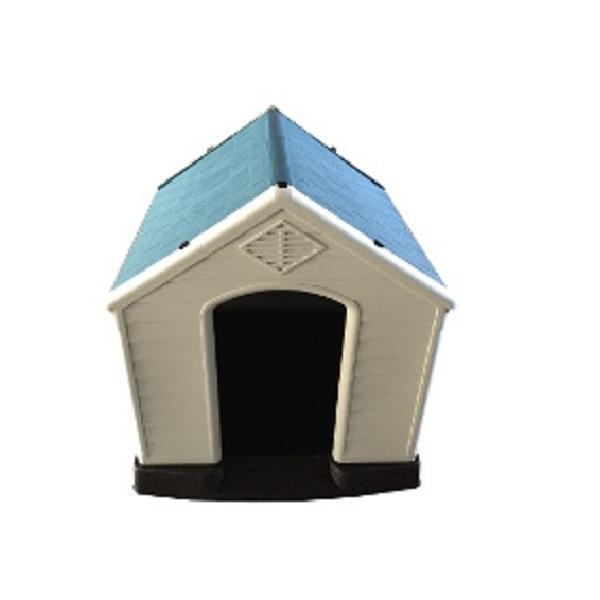 【代引き不可】【組み立て式】ドッグハウス MT-105【965mm×1050mm×H985mm】【犬 ハウス 犬小屋】【簡単組み立て】【プラスチック製】【ドッグハウス】