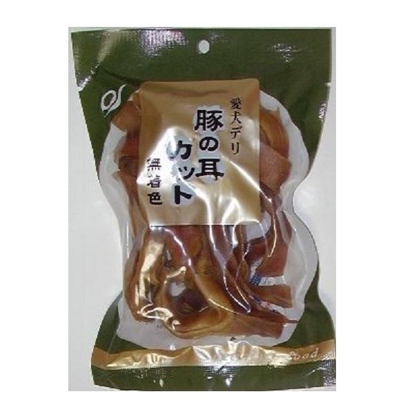 厳選素材を志向性抜群に仕上げた愛犬デリシリーズ 天然素材の自然食品 豚の耳 カットタイプ 100g×25袋セット 新着 人気 売筋 お得クーポン発行中 厳選 お薦め