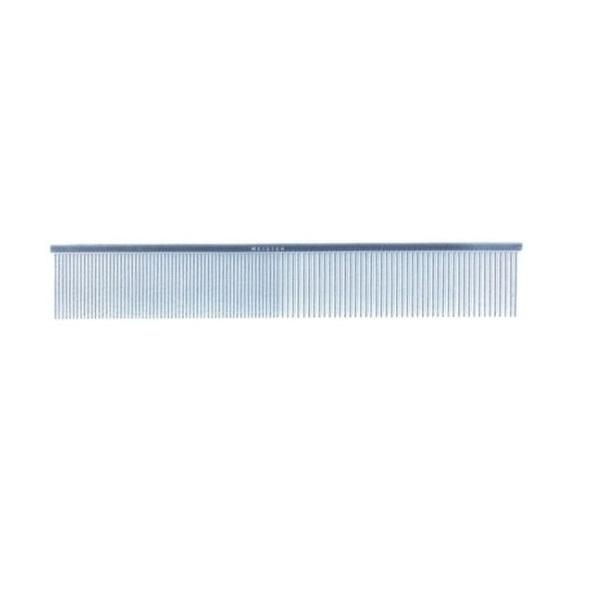 【国産高級金櫛】ステンレス極細ピン両目櫛 KS-210