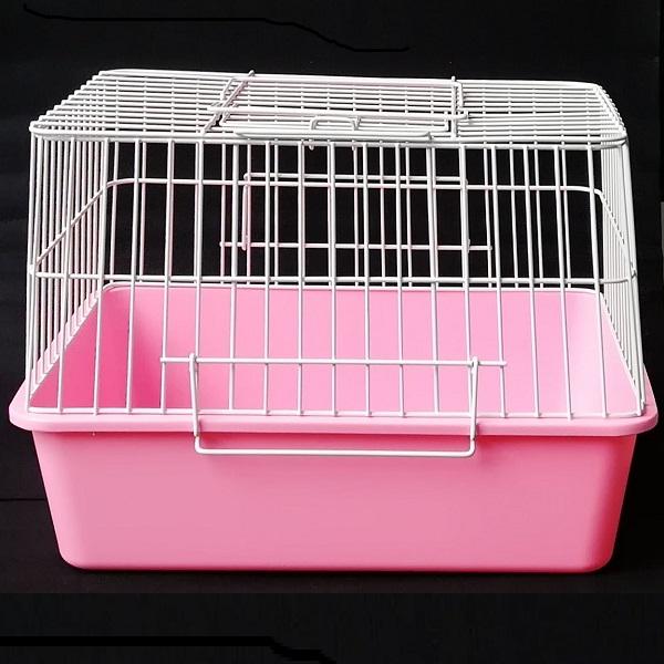ハムスターなどの小さなペットに最適なサイズの商品です 小動物用キャリー お得 まとめ買い ピンク色のみ パピーバックハイタイプ×10セット バースデー 記念日 ギフト 贈物 お勧め 通販 ピンクのみ 軽便かご 注目 大人買い 大好評 小動物用かご