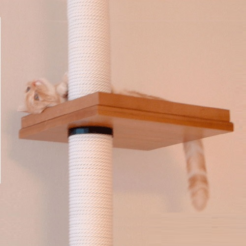 キャットタワー用のパーツ交換で永年使用できます アスレチック用 角ベッド サイス400×350mm 年中無休 タワーパーツ 長年使用 交換 最新アイテム
