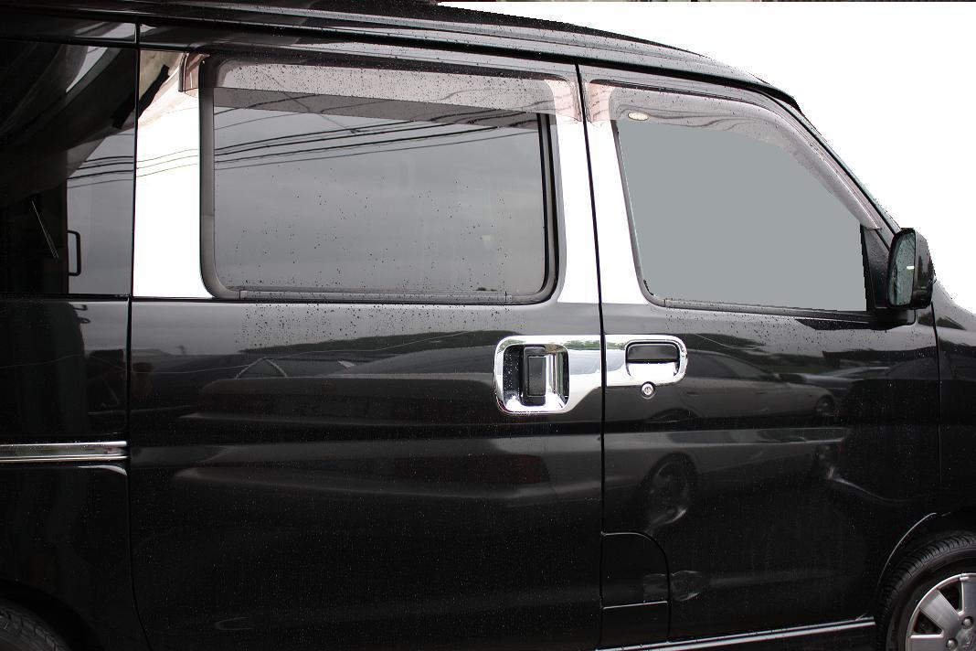 DA64エブリィワゴン 鏡面ピラー 6P