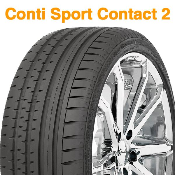 【2017年製 10週以降】275/40R19 (105Y) XL MO【コンチネンタル コンチ スポーツ コンタクト 2】【CONTINENTAL Conti Sport Contact 2 CSC2】【Mercedes-Benz承認】【新品】