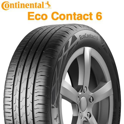 ■205 55R16 91W CONTINENTAL エココンタクト 6 2020年製 新品 国内即発送 お得セット CEC6 EcoContact BMW承認 205 コンチネンタル EC6