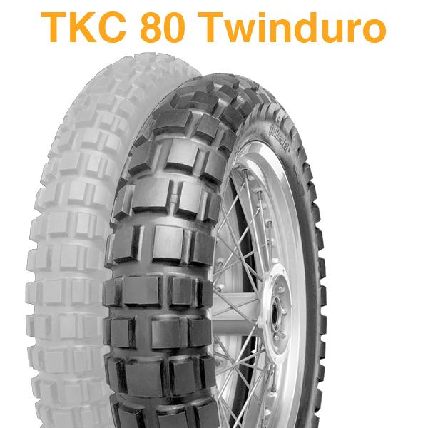 【2018年製】170/60B17 72Q【コンチネンタル】【CONTINENTAL】【TCK 80 Twinduro】【TKC80 ツインデューロ Front】【バイク】【新品】