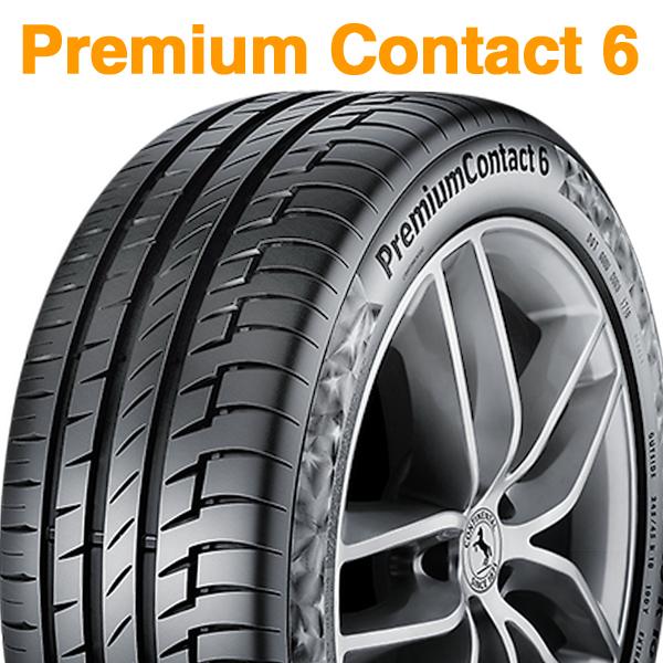 【2018年製】245/45R17 99Y XL【コンチネンタル プレミアム コンタクト 6】【CONTINENTAL Premium Contact 6 CPC6】【新品】