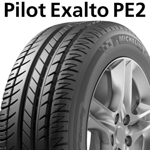 【2018年製】225/50R16 92Y N0【ミシュラン パイロット エグザルト PE2】【MICHELIN Pilot EXALTO PE2】【Porsche承認】【新品】