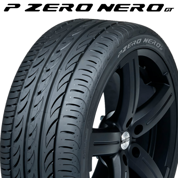 【ラスト1本】【2017年製 46週以降】225/35R18 87Y XL【ピレリ ピーゼロ ネロ GT】【PIRELLI P ZERO NERO GT】【新品】