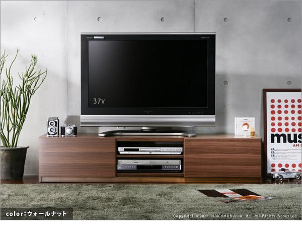 【送料無料】アウトレット 大幅値下げ/ウォールナットの幅150 テレビ台 WN-150/テレビボード/ローボード