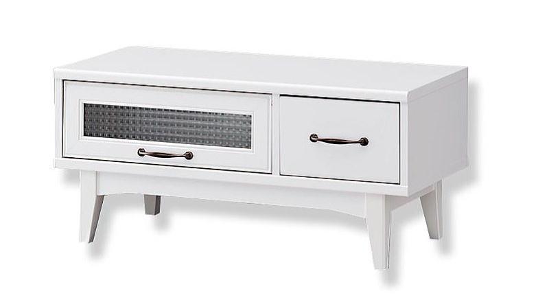 【送料無料】レトロモダン テレビ台 ホワイト レトロア RTA-4085FH テレビボード