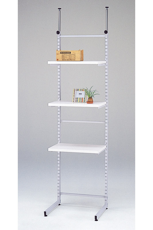 Outlet Ceiling Rigid Open Rack Width 60 White Fronted Bookcase Commercial Furniture Stands