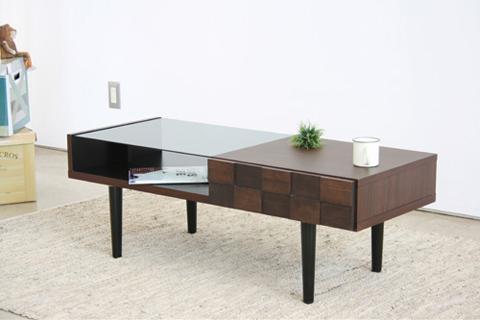 【送料無料】モダン リビングテーブル CK LIVING TABLECK LIVINGTABLE センターテーブル 日本製 完成品