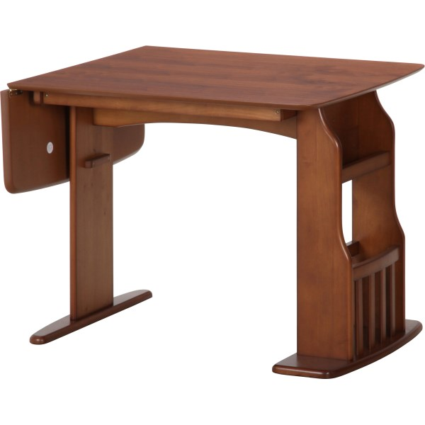 【送料無料】伸縮式 ダイニングテーブル 2人~4人用 バタフライ ダイニングテーブル 幅90-120