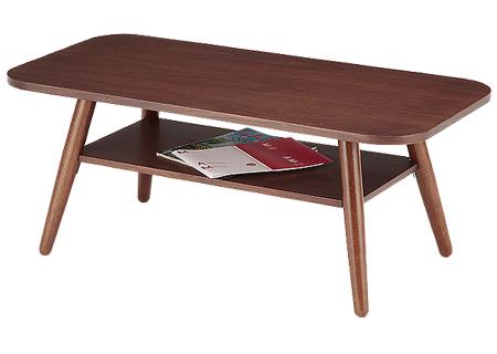 【送料無料】あずま工芸 センターテーブル WLT-2070 リビングテーブル ローテーブル ダークブラウン