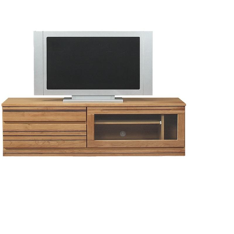 【送料無料】テレビ台 ルーシュ 150TV テレビボード 完成品 アルダー材 ナチュラル色