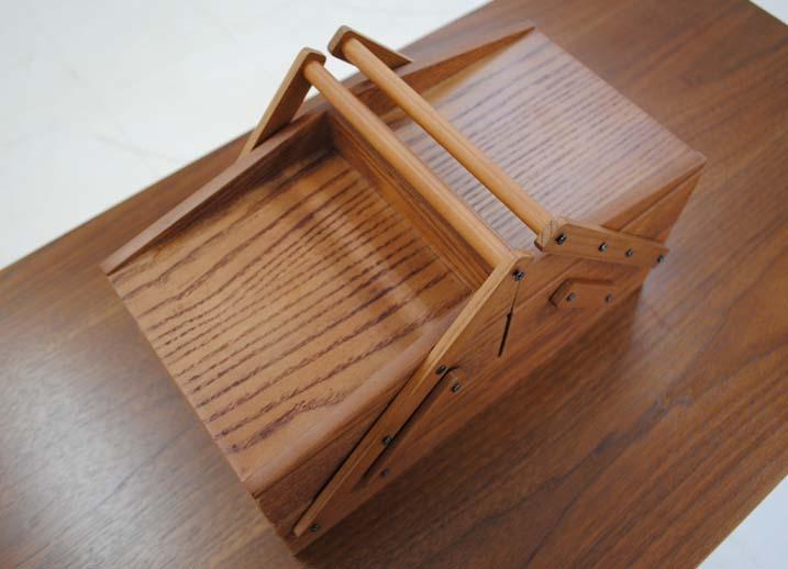 【送料無料】木製 ソーイングボックス 裁縫箱 天然木 brunWood ブラン インテリア雑貨 完成品 プレゼント 贈り物