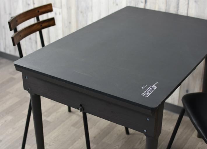 ヴィンテージ風 フォールディングテーブル ダイニングテーブル USタイプ フォールディングテーブル オリーブグリーン コンパクト収納可能