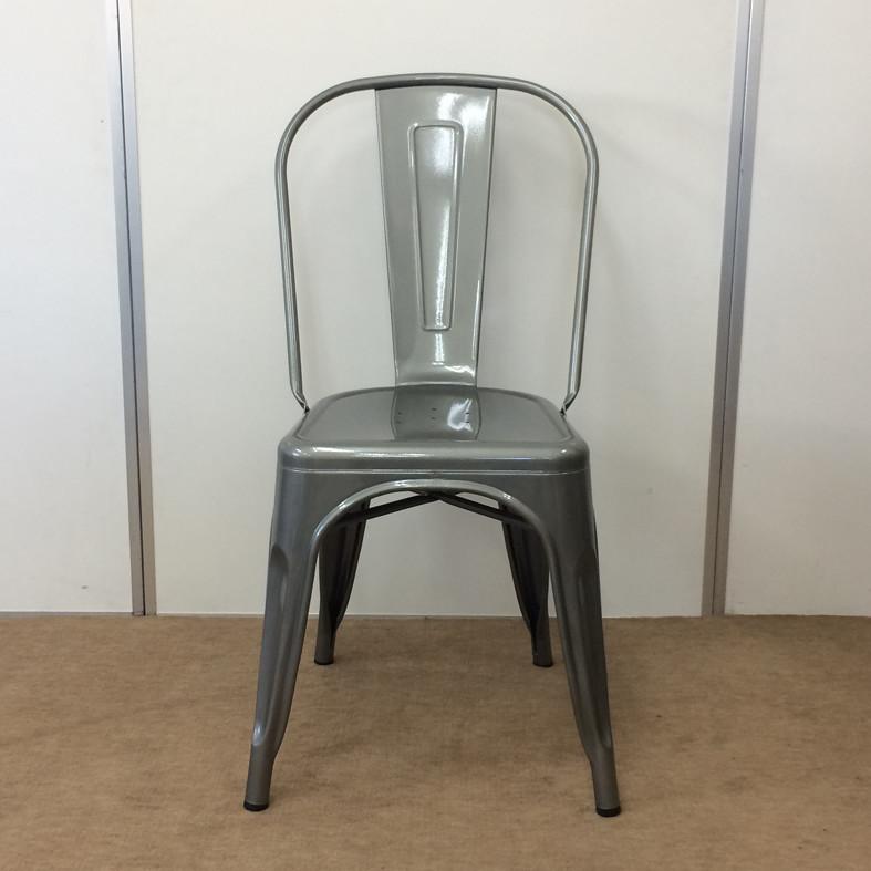 【送料無料】メタルチェア おしゃれ 椅子/カフェチェア/Aチェア/スタッキング/ダイニングチェア/店舗用チェアー