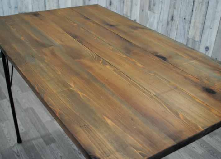 【送料無料】テーブル天板とアイアン脚のセット 900x630 アンティーク調 オシャレ カフェ風 ヴィンテージ風テーブル 天板のみ ダイニングテーブル天板 カフェ風テーブル 古木風 天板 カウンターテーブル コンソールテーブル