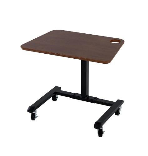 【送料無料】リフティングテーブル 昇降式テーブル 高さ調節可能 テーブル 幅59×奥行40×高さ49~69cm
