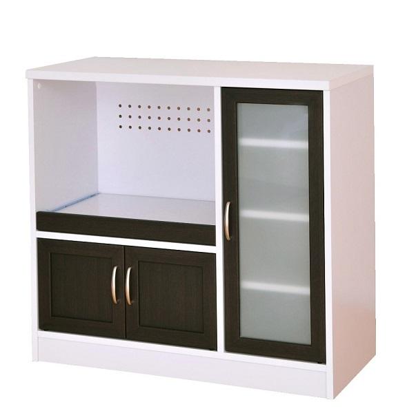 【送料無料】レンジ台 Cafetira(カフェティラ)食器棚(ロータイプ/90cm幅)