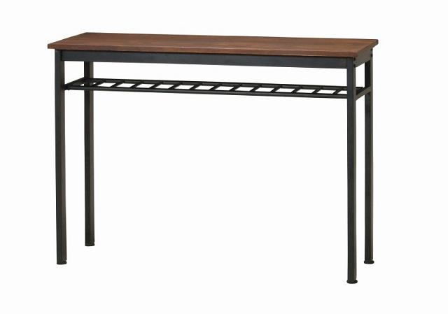 【送料無料】カウンターテーブル ハイテーブル インダストリアル アイアン カフェ風 テーブル エヴァンスハイテーブル インダストリアルデザイン 幅120cm