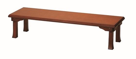 【送料無料】折脚座卓 幅150 奥行45 会席テーブル 木製座卓 完成品