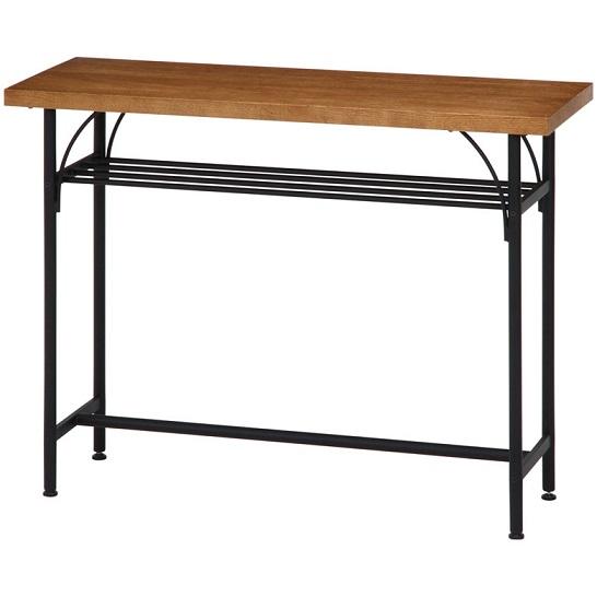 カウンターテーブル 幅110 アイアン ウッド