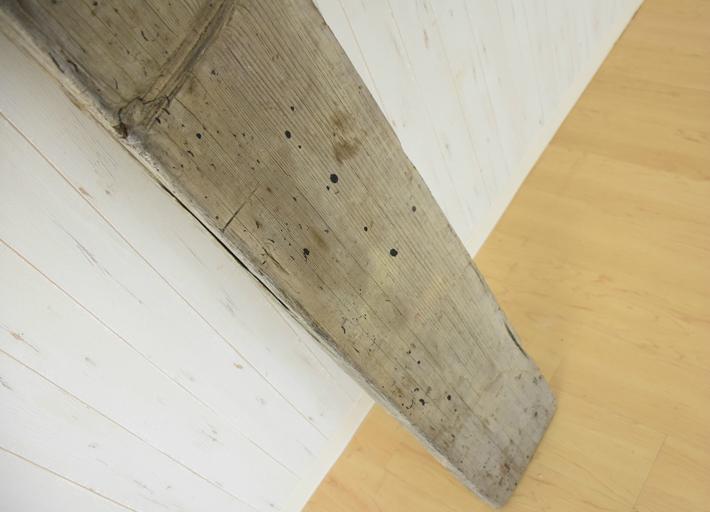 足場板 古材 ヴィンテージ 板 棚板 DIY ウォールシェルフ シェルフボード 幅180 奥行23.5 厚み4.5cm