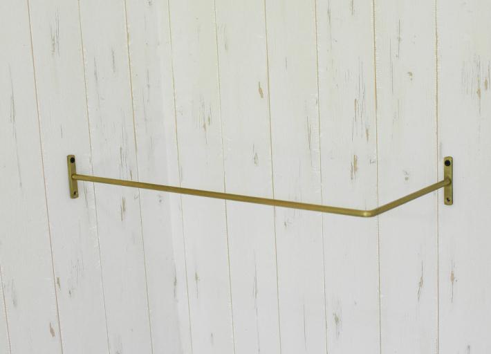 アイアン ウォールシェルフ 幅68 ブラック 壁掛け棚 シェルフ