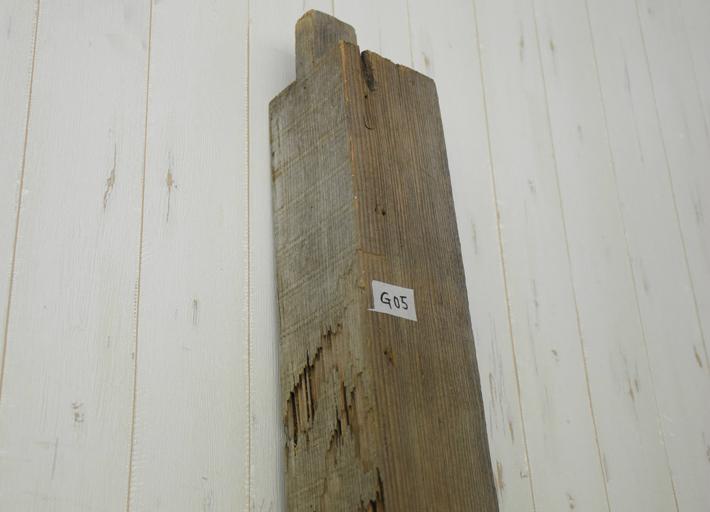 古材 角材 柱 棚板 ディスプレイ 木材 DIY G-5 幅220