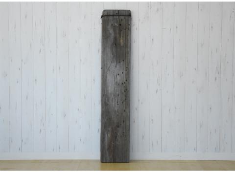 古材 足場板 幅205cm 古木 天板 棚板 DIY天板 ディスプレイ棚 H02