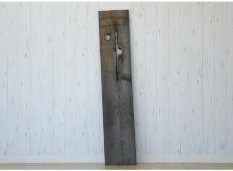 古材 一枚板 天板 棚板 ウォールシェルフ棚 幅90 H07