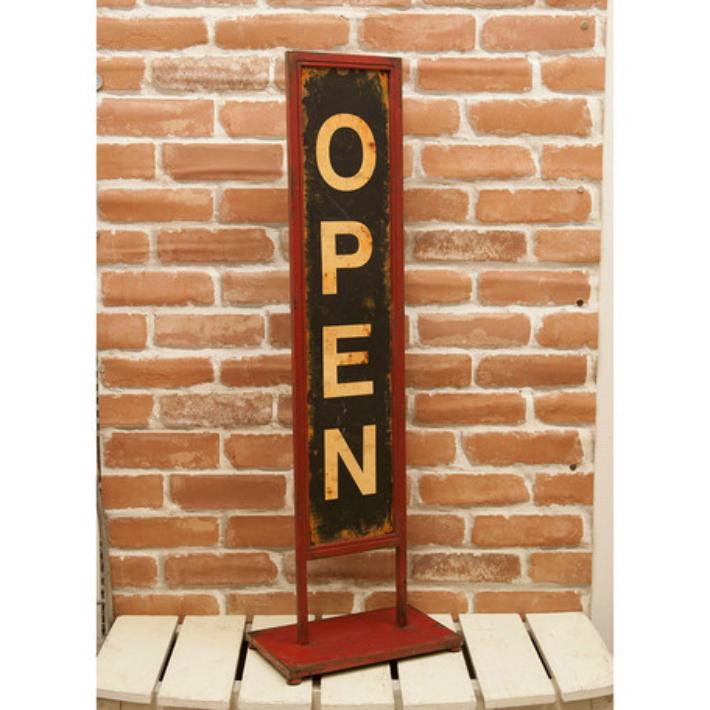 店舗用 看板 オープン クローズ スタンド Old New シリーズ[Both スタンドプレート