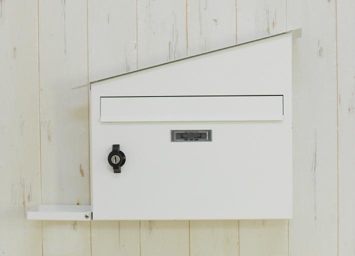 【送料無料】メールボックス ホワイト HS2766 ハウスポスト ホワイト 郵便ポスト 壁掛けポスト