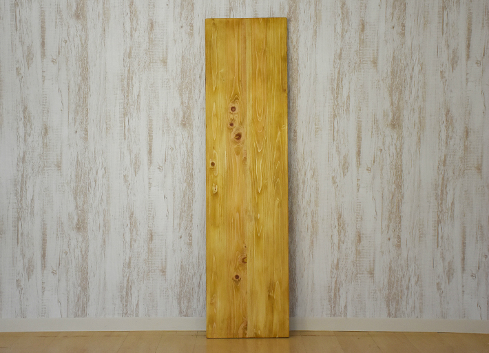 アンティーク風 テーブル 天板のみ 幅135 奥行36cm メープル色 ナチュラル 古材風 カウンターテーブル天板のみ カフェテーブル ダイニングテーブル 北欧風テーブル 店舗展示台 店舗什器